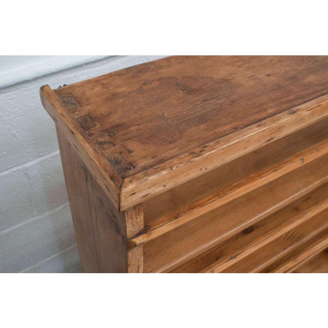 Traditional Pine Hanging Plate Rack For Sale - Image 3 of 5