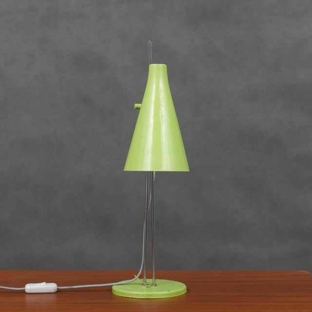 Delicate design of the lamp LIDOKOV L194 from well-known designer Josef Hurka. Nice original condition with tiny signs of...