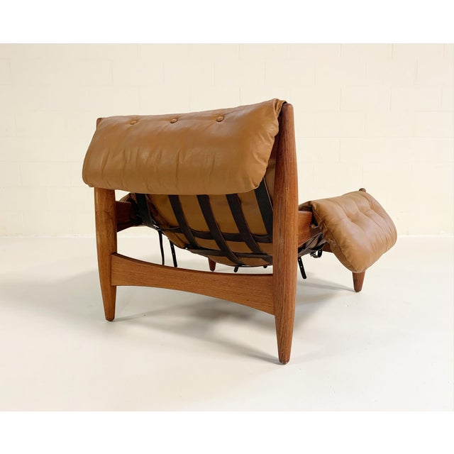 Animal Skin Sergio Rodrigues Sheriff Chair For Sale - Image 7 of 12