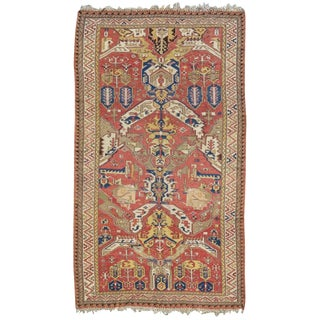 Dragon Sumak Carpet - 5′8″ × 11′ For Sale