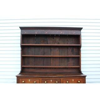 Early Nineteenth Century Oak Welsh Cupboard With Bone Detail Preview