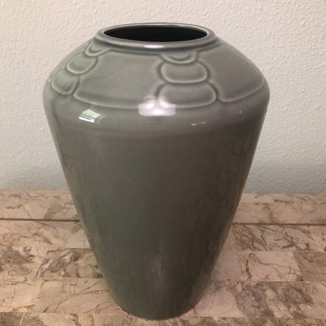 Arita Sculptura Grey Vase For Sale In Houston - Image 6 of 6
