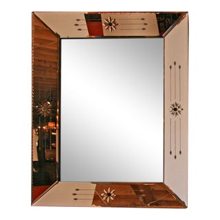 French 50s Mirror For Sale