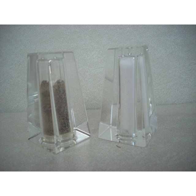Oleg Cassini Designed Salt & Pepper Shakers - A Pair - Image 2 of 3