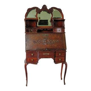 Antique Louis XVI Style Secretary Desk For Sale