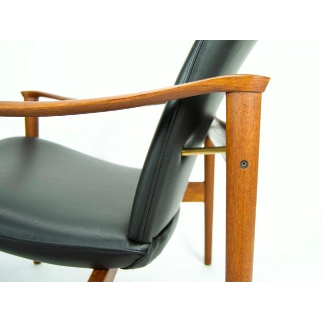 1950s Vintage Fredrik Kayser for Vatne Lenestolfabrik Model 711 Lounge Chair For Sale - Image 9 of 13