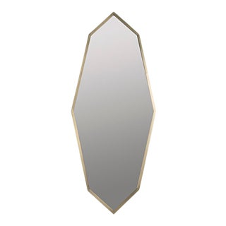 Parsifal Mirror, Antique Brass For Sale