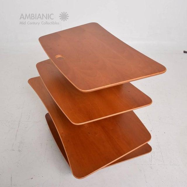 Brown Danish Modern Aksel Kjesgaard Book Stand For Sale - Image 8 of 10