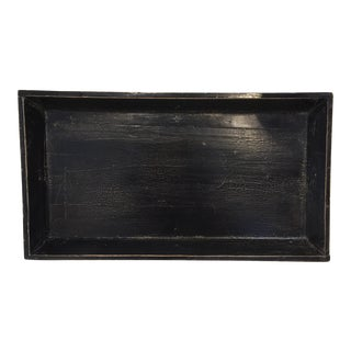 Black Elm Asian Tray For Sale