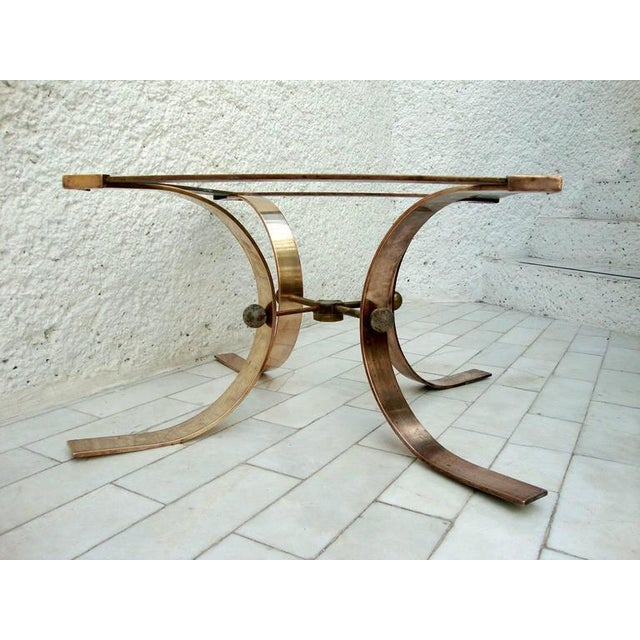 Sculptural Side Table in Brass For Sale In San Diego - Image 6 of 8