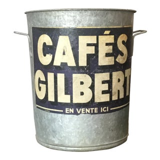 Vintage French Zinc Tub For Sale