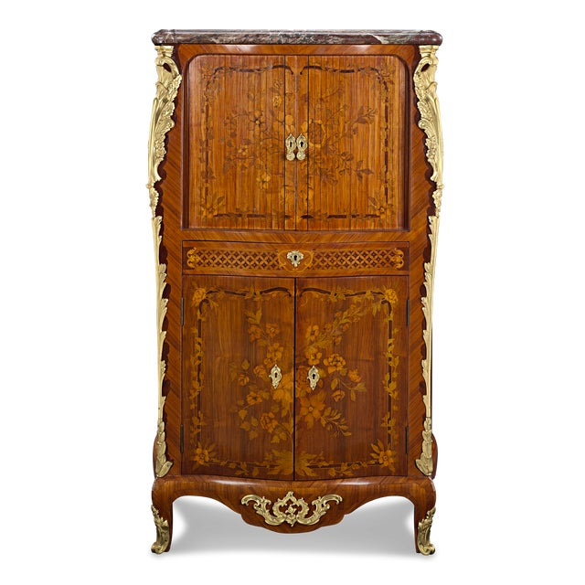Jean-René Nadal L'Ainé Tambour-Front Secretaire For Sale In New Orleans - Image 6 of 6