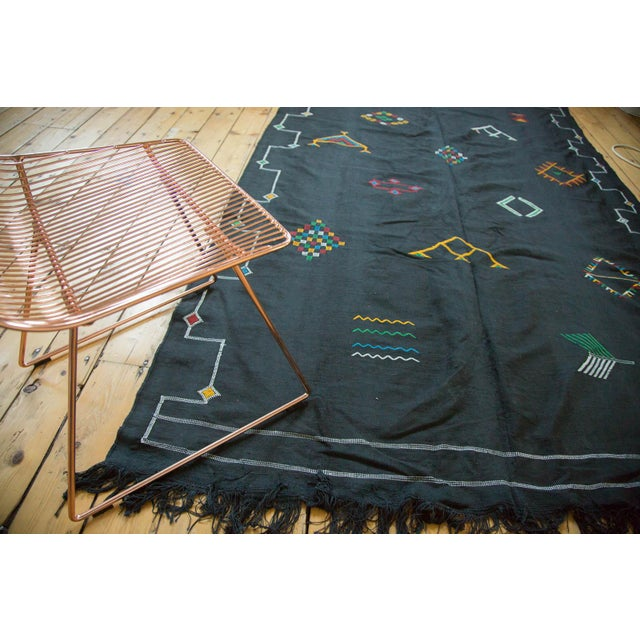 Boho Chic New Kilim Carpet - 6' X 9' For Sale - Image 3 of 9