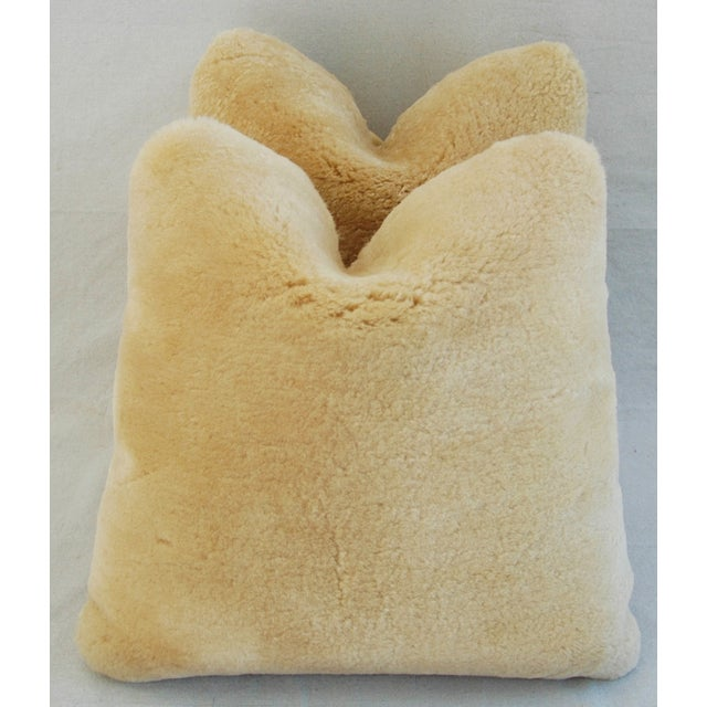 Pierre Frey Plush Lambswool Pillows - A Pair - Image 2 of 10