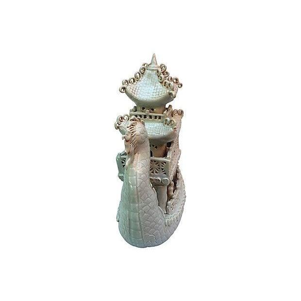 Celadon Pagoda Ship - Image 4 of 6