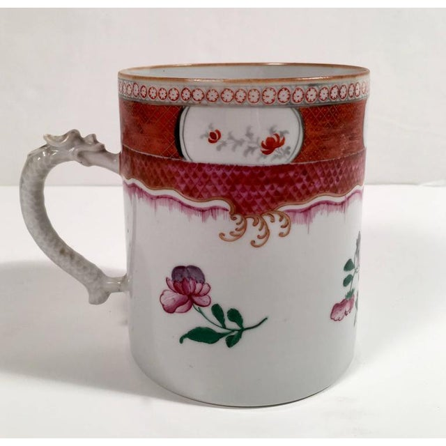 Chinese Export Famille Rose Porcelain Mug - Image 1 of 9
