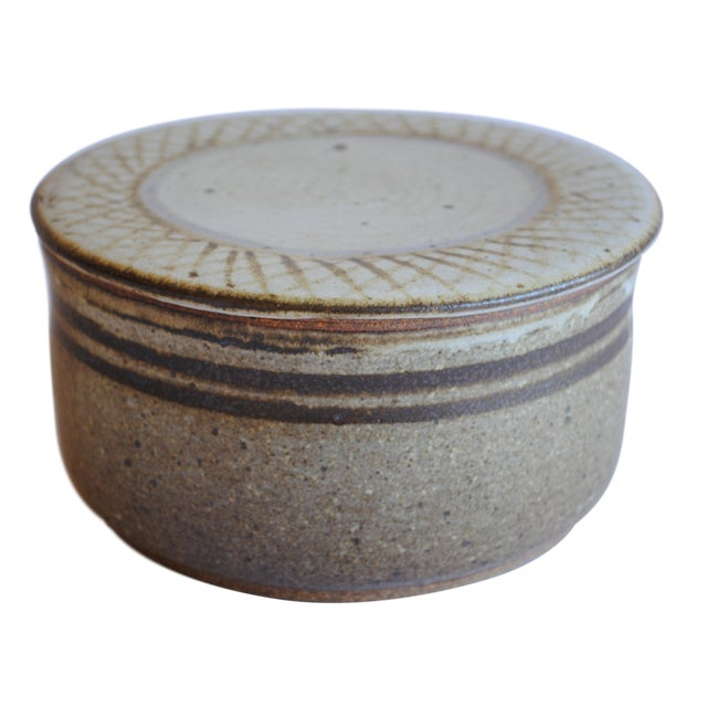 Vintage Studio Pottery Bowl - Image 1 of 8