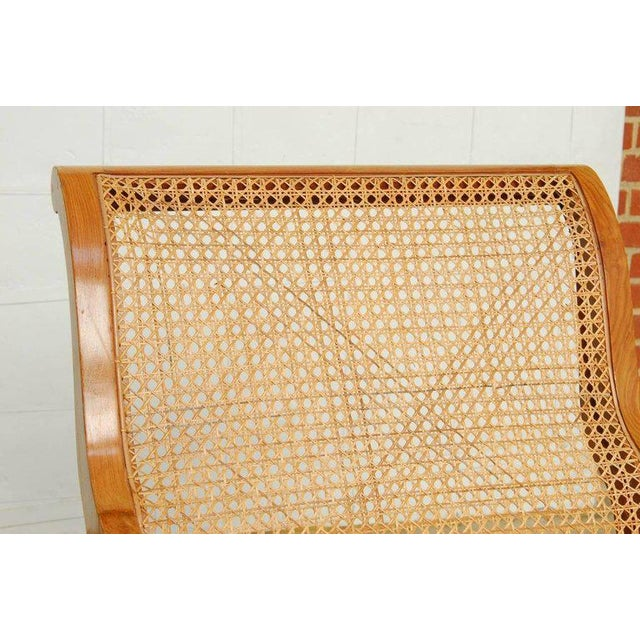 Anglo-Indian Teak and Cane Plantation Chair For Sale - Image 9 of 13
