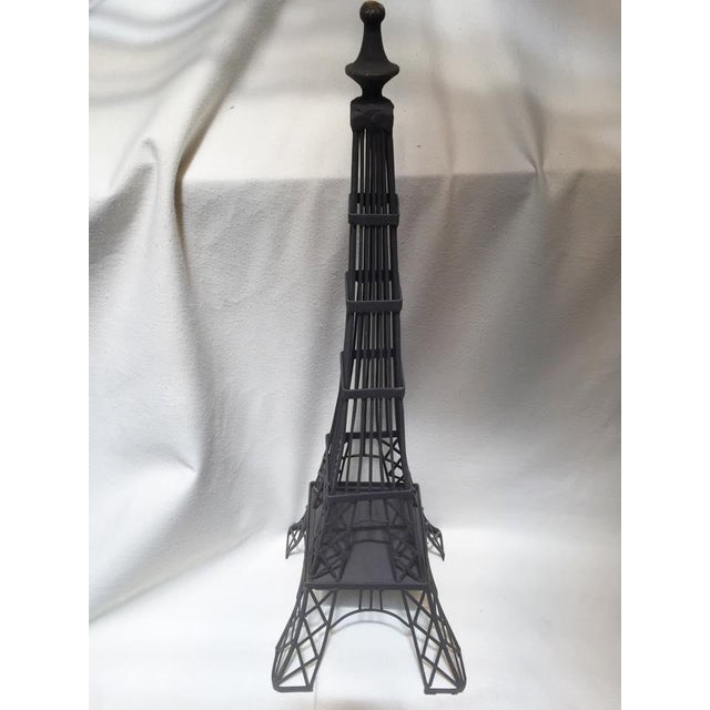 French Large Tour De Eiffel Room Accent For Sale - Image 3 of 5