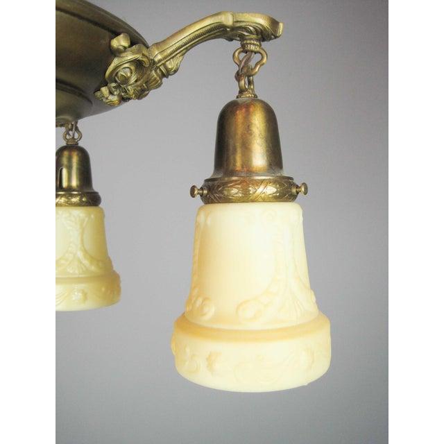 Embossed Original Pan Light Fixture (4-Light) - Image 7 of 9