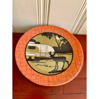 Camping Outdoor Dining Trailer Park Plates, Set of Eight Preview
