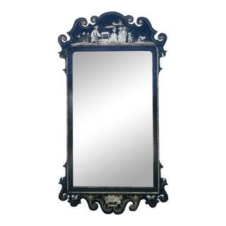 Italian Chinoiserie Mirror For Sale