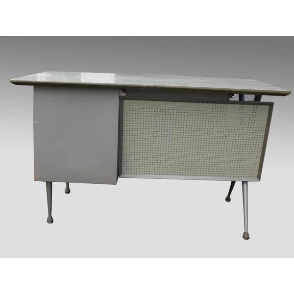 Raymond Loewy Brunswick 4 Drawer Office Desk For Sale - Image 5 of 8