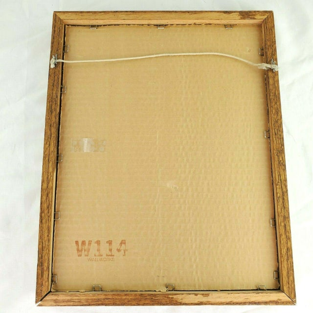 1970s William Tara Giraffe Print For Sale - Image 4 of 5