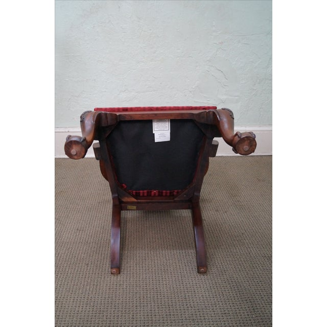 Maitland Smith Mahogany Chippendale Arm Chairs - 2 - Image 5 of 10
