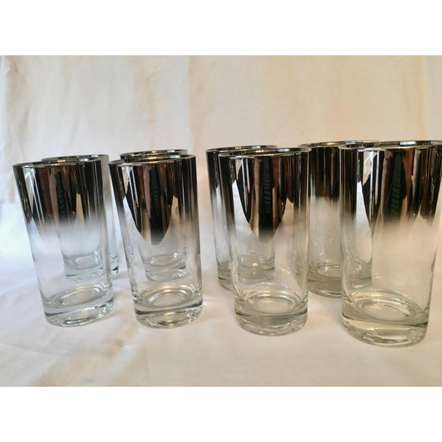 Mid-Century Dorothy Thorpe Style Drinking Glasses - Set of 8 - Image 2 of 9