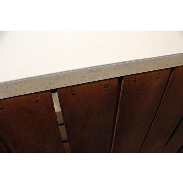 Mid-Century Danish Modern Arthur Umanoff 3-Piece Bar & Pair of Stools For Sale - Image 9 of 13