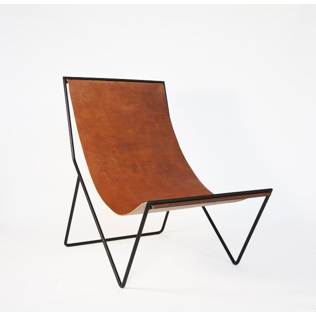 Sling Chair designed by Kyle Garner for Sit and Read. Made in the USA and sold out online.