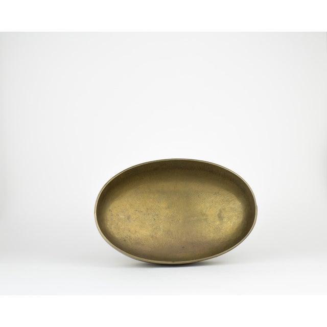 Vintage Brass Pedestal Bowl - Image 6 of 11