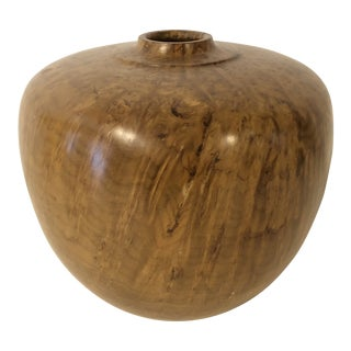 Lanny Lyell Wood Turned Vase For Sale