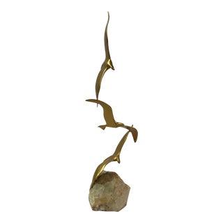 C. Jere Seagull Sculpture