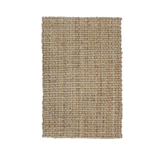 Costa Rica Natural/Grey Jute Rug 2 X 3 For Sale