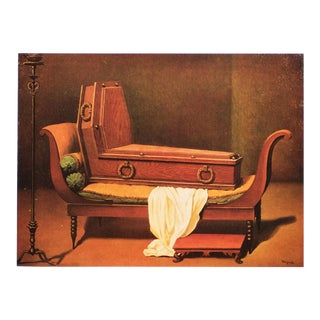 "1972 Rene Magritte, ""Perspective: Madame Recamier by David"" Original Photogravure For Sale"