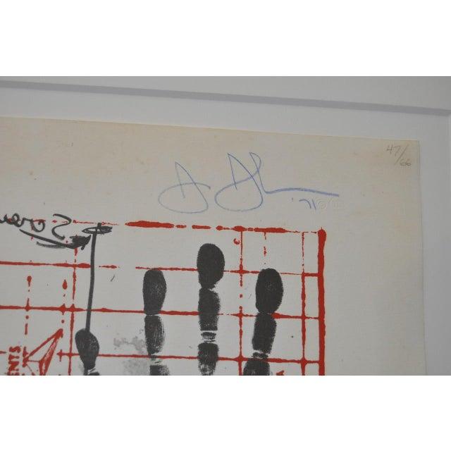 "Circa 1971 ""Coca Cola"" Signed Color Lithograph By Jasper Johns - Image 5 of 9"