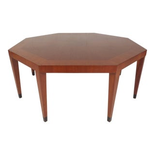 Vintage Modern Octagonal Coffee Table by Baker Furniture For Sale