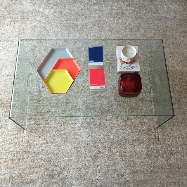 Safavieh Glass Coffee Table - Image 4 of 7