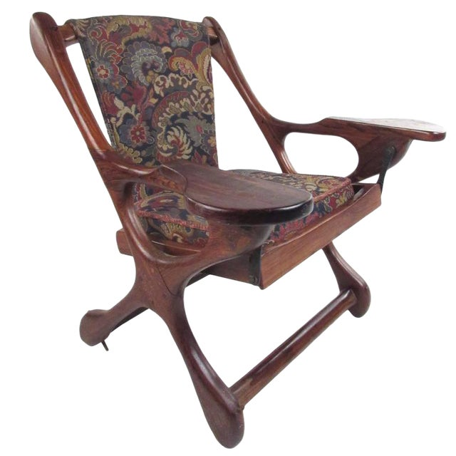 Mid-Century Don Shoemaker Accent Chair For Sale