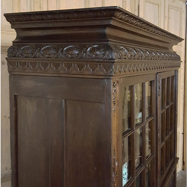 Late 18th Century 18th Century French Louis XIV Bookcase ~ Vitrine For Sale - Image 5 of 13