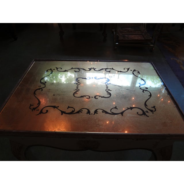 French Gilt Decorated Drinks Side Table - Image 5 of 5