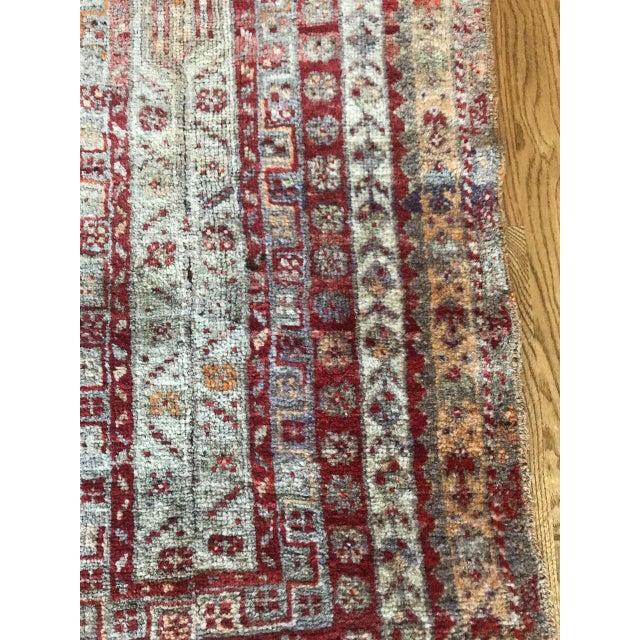 "Traditional Bellwether Rugs Vintage Oushak ""Vega"" Rug - 1'11"" X 4'9"" For Sale - Image 3 of 6"