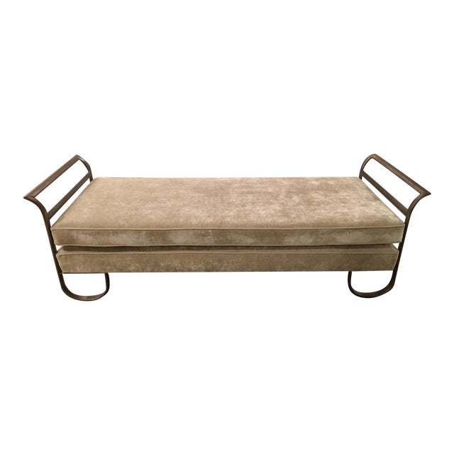 Art Deco Daybed - Image 1 of 6