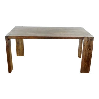 West Elm Contemporary Rustic Wood Table