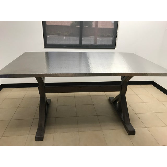 Contemporary Bernhardt Interiors Stockton Portobello Table For Sale - Image 3 of 5