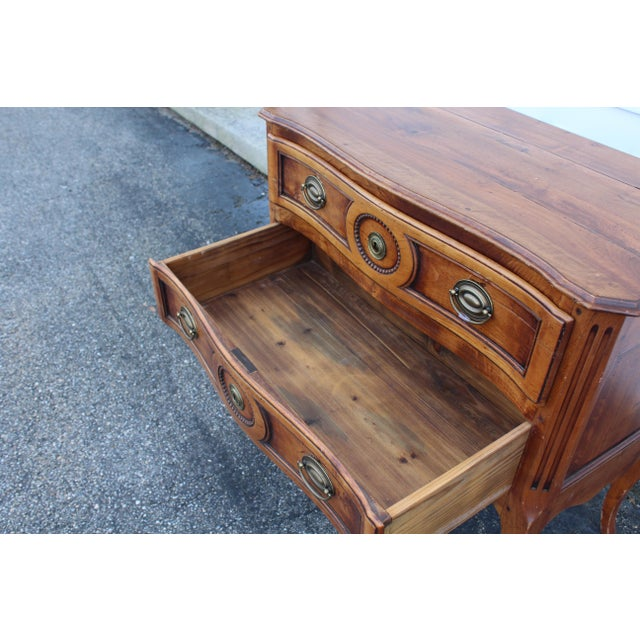 20th Century Louis XV Cherry Wood Chest For Sale In New York - Image 6 of 9