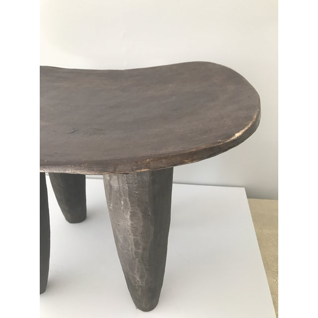 African Carved Senufo Stool - Image 8 of 9