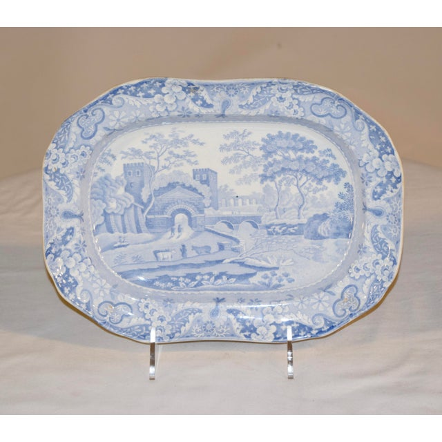 19th Century Copeland Spode Platter For Sale - Image 10 of 10